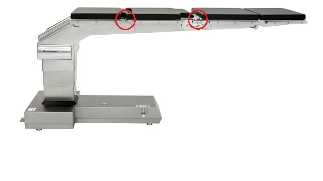 image of a operating table